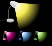 obracać biurko lampy Obrazy Stock