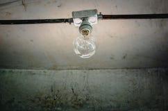 Obraca daleko lampę Zdjęcia Stock