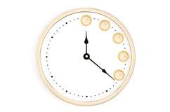 Obraca twój czas w pieniądze Obrazy Stock
