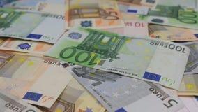 Obracanie Europejski euro, różna godność zbiory