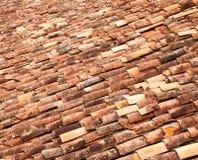 obrachunkowy antyczny palący ceramiczny prąd wyczerpujący robić mimik przypomina dachowej płytki drewnem drewnianym był fotografia stock