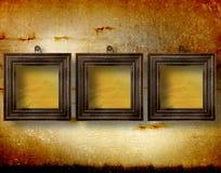 obramia grunge pokój wewnętrznego starego Zdjęcia Stock