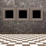 obramia grunge pokój wewnętrznego starego Zdjęcie Royalty Free