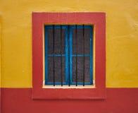 Obramiający okno kolory zdjęcie stock