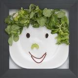być obramowane jedzenie. Obrazy Royalty Free