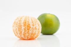 Obrana mandarynki pomarańcze, Tangerines, tajlandzka pomarańcze Fotografia Royalty Free