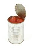 obrane pomidory mogą Obraz Royalty Free