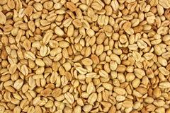 Obranego arachidu tła karmowa fotografia w studiu Zdjęcia Stock