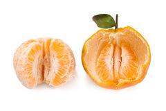 Obrany Tangerine i Tangerine Zdjęcie Stock