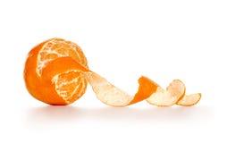 Obrany tangerine lub mandarynka zdjęcie stock