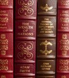 Obras clásicas de la economía Fotografía de archivo