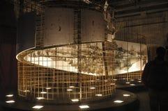 Obras de arte exibidas na Veneza Bienal Imagens de Stock Royalty Free