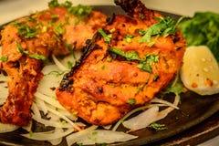 Obras pequenas do ` dos ors d do petisco das mordidas da galinha de Tandoori Fotos de Stock