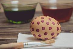 Obrazów jajka dla Wielkanocnego wakacyjnego świętowania Obraz Royalty Free