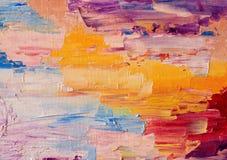 Obrazów olejnych kolory Zdjęcia Stock