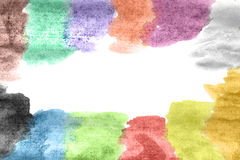 obraz abstrakcjonistyczna akwarela Obraz Stock