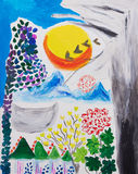 obraz abstrakcyjne Obraz Stock