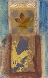 obraz abstrakcyjne liści ilustracji