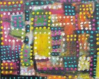 obraz abstrakcyjne Wzorzysty tło Zdjęcia Stock