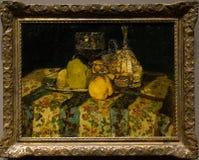 Obraz Adolphe Monticelli w national gallery w Londyn obraz royalty free