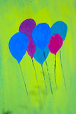 obraz balonowy Obraz Stock