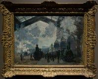 Obraz Claude Monet w national gallery w Londyn fotografia royalty free
