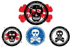 obraz czaszki pieczęć Zdjęcia Royalty Free