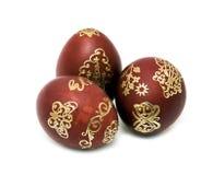 obraz Easter jajek złocisty ładny obraz Fotografia Royalty Free