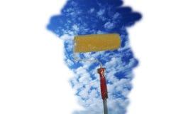 obraz nieba obrazy stock