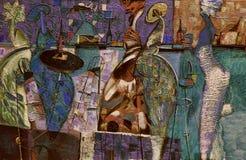 Obraz olejny, artysta Romański Nogin, serii ` Żeńska rozmowa ` autora ` s wersja kolor ilustracji