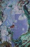 Obraz olejny, artysta Romański Nogin, serii ` kobiet rozmowa ` ilustracja wektor