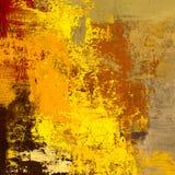 Obraz olejny na brezentowy handmade Abstrakcjonistycznej sztuki tekstura struktura kolorowa nowożytna grafika Uderzenia gruba far zdjęcie stock