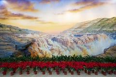 Obraz olejny sala Obrazy Stock