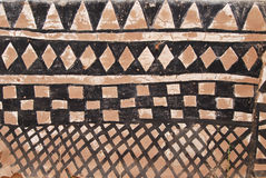 obraz plemienna afrykańskiej ściany Fotografia Royalty Free