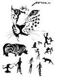 Obraz sylwetka Royalty Ilustracja
