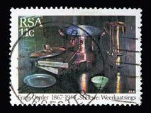 Obraz, uznanie F d Oerder (1867-1944) serii, około 1985 Fotografia Royalty Free