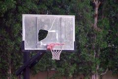 Obrazek łamany koszykowy backboard należny niska jakość fotografia royalty free