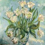 Obrazek białe róże royalty ilustracja