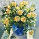 Obrazek białe róże Zdjęcia Royalty Free