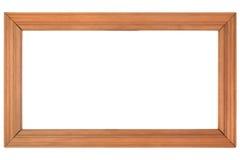 Obrazek drewniana rama obraz stock