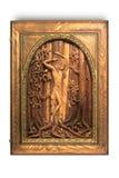 obrazek drewniany świątobliwy Sebastian Fotografia Royalty Free