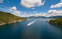 Obrazek fjord Obraz Royalty Free