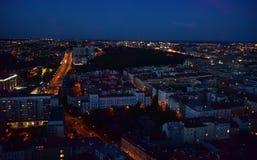 Obrazek miasto nocą obrazy stock