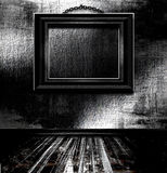 obrazek pusta ramowa ściana Obrazy Stock