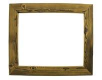 Obrazek ramy na białym tle Zdjęcia Stock