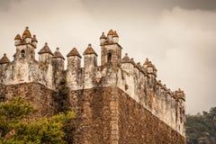 Obrazek Tepoztlan kasztel w Meksyk Zdjęcie Stock