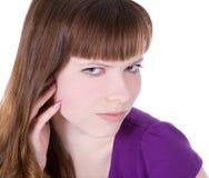 obrazek urocza nadmierna biała kobieta Zdjęcia Stock