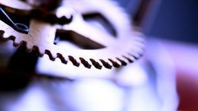 Obrazek zbliżenie ręki na zegarowej twarzy Zdjęcia Stock
