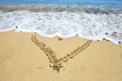 obrazka kierowy piasek Zdjęcie Royalty Free