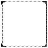 obrazka narożnikowy ramowy kwadrat Obrazy Royalty Free